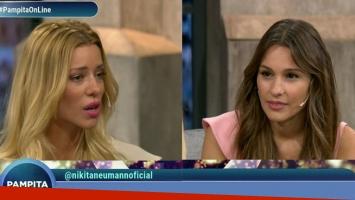Pampita le hizo picantísimas preguntas a Nicole Neumann en su programa de TV