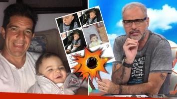 El polémico y desafortunado mensaje del marido de Amalia Granata contra Jorge Rial, defendiendo su paternidad de Roque...