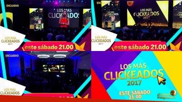 #LosMásClickeados2017 por dentro: mirá la fiesta por Ciudad Magazine TV