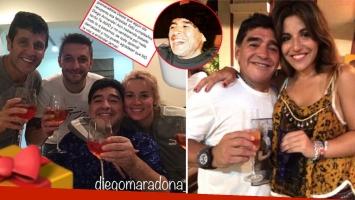 El saludo de Diego Maradona a quienes lo felicitaron por su cumpleaños