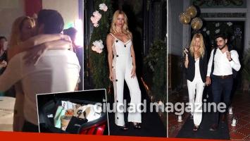 ¡Amor de festejo! El romántico cumpleaños de Nicole junto a Facundo Moyano: besos, invitados famosos ¡y un baúl repleto de regalos! (Fotos: Movilpress)