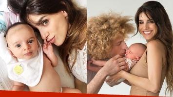 Gabriela Sari y una foto súper dulce junto a su beba