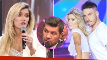 La respuesta de Laurita Fernández cuando Tinelli le preguntó si le gustaría casarse con Fede Bal (Fotos: Captura y Web)