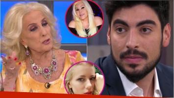 Mirtha Legrand y su pregunta bomba para Facundo Moyano: