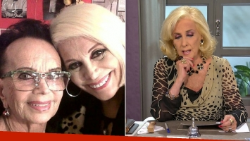 Carmen Barbieri se bajó del programa de Mirtha Legrand: su madre de accidentó