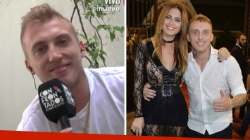 El Polaco admitió que con Silvina Luna están buscando un embarazo