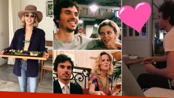 ¡Estrella reconciliada! Justina Bustos, fin de semana de amor con su novio, Mariano Bustillo