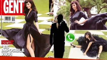 Griselda Siciliani reveló que los hombres la invitan a salir por WhatsApp: Me mandan mensajes, pero no los miro;...