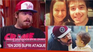 La confesión de Migue Granados en Cortá por Lozano: Hace 2 meses murió mi mamá y eso me liberó porque ya no vivo...