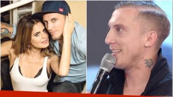 El Polaco habló en ShowMatch sobre sus deseos de ser padre junto a Silvina Luna (Fotos: Web y Captura)