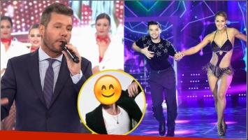 Tinelli anunció que Flor Vigna continuará en el certamen con un bailarín