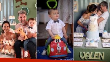 El álbum del primer cumpleaños de Valentín, el hijo de Lourdes Sánchez y el Chato Prada: mirá en quién se...