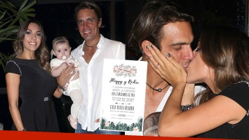 Floppy Tesouro se casa con Rodrigo Fernández Prieto en Uruguay: mirá la tarjeta de la boda