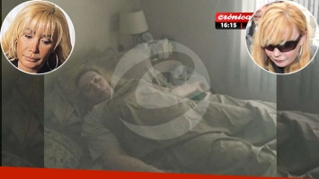 La impactante foto de Giselle Rímolo, a minutos de ser trasladada para cumplir 9 años de prisión