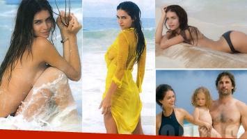 La producción de fotos sexies de Zaira Nara en Playa del Carmen: Jako y mi hija me conectaron con el amor más puro
