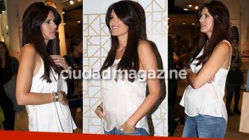 Las primeras fotos de la pancita de Isabel Macedo (Foto: Movilpress)