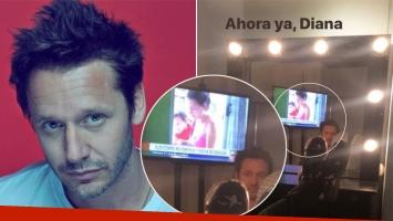 La inoportuna selfie de Benjamín Vicuña contra un espejo: ¡apareció una imagen de Pampita!