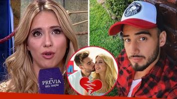 Florencia Vigna confirmó su separación de Nicolás Occhiato
