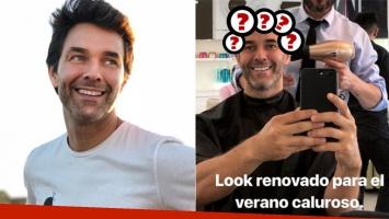 El cambio de look de Mariano Martínez: Renovado para el verano caluroso