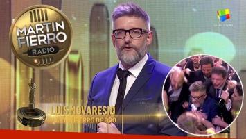Luis Novaresio ganó el Martín Fierro de Radio de Oro 2017