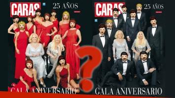 Original tapa doble de la gala aniversario de Caras: descubrí quiénes que acompañan a Mirtha y Susana