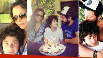 Julieta Ortega e Iván Noble le celebraron el cumpleaños de su hijo