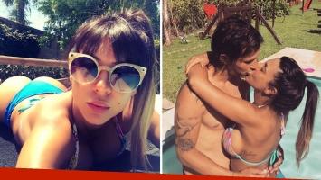 Las fotos hot de Tamara Alves y Pato Toranzo en mallas dentro de una piscina