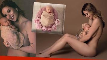 Jésica Cirio en una producción súper tierna con su hija recién nacida: las mejores fotos y ¿por qué decidió no...