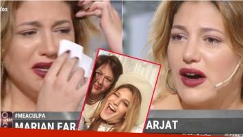 Marian Farjat quebró en llanto al hablar de la delicada operación de 7 horas que atravesó su mamá: Me siento...
