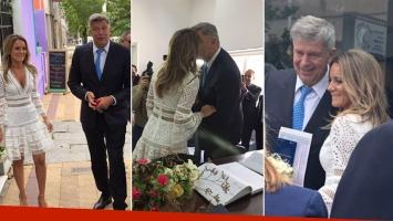 Mauricio D'Alessandro y Mariana Gallego se casaron por Civil