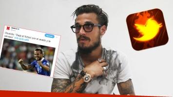 Daniel Osvaldo volvió a Twitter y estalló furioso contra el diario Marca por una nota: ¡Amarillistas! Qué título...