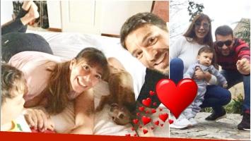 La insólita técnica de Ximena Capristo y Gustavo Conti para acostar a su hijo: A Félix le encanta dormir con los...