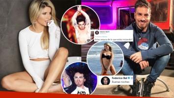 ¡Guerra de fotos retro! Laurita Fernández provocó a Fede subiendo una imagen graciosa de él a Twitter... ¡y Bal le...