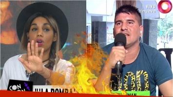 La escandalosa pelea de Mimi y el novio de Gladys La Bomba Tucumana en Confrontados