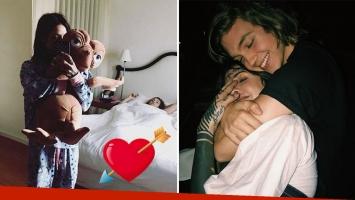 Candelaria Tinelli y Franco Masini cumplieron seis meses de novios. Foto: Instagram