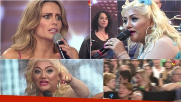 Gladys La Bomba Tucumana, furiosa con Melina Lezcano en ShowMatch