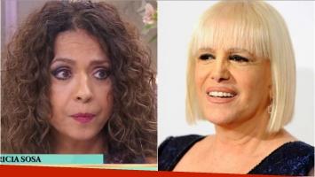 La tristeza de Patricia Sosa por su pelea con Valeria Lynch: Me dio tanta rabia que la borré de Twitter