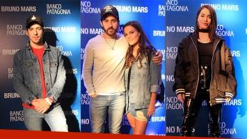 ¡Suban el volumen! Los looks de los celebrities en el increíble show de Bruno Mars