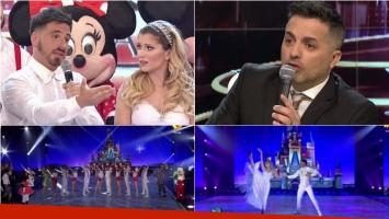 El homenaje de Fede Bal y Laurita Fernández a Disney que terminó en un picantísimo cruce con De Brito