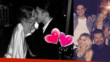 Francisco Tinelli, súper enamorado de su novia: foto a los besos y declaración de amor