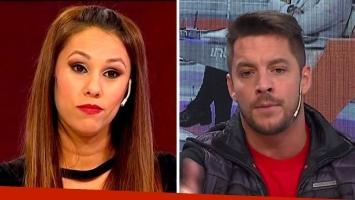 Francisco Delgado puso en duda la paternidad de un embarazo de Barby Silenzi en 2012