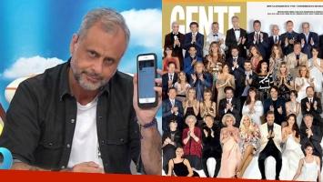 Jorge Rial y un picante palito para la tapa de los Personajes del Año de Gente: Me alegro de no aceptar la...