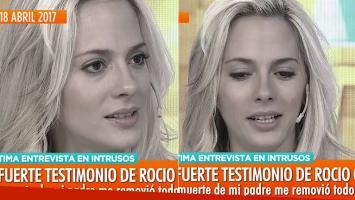 La última aparición pública de Rocío Gancedo