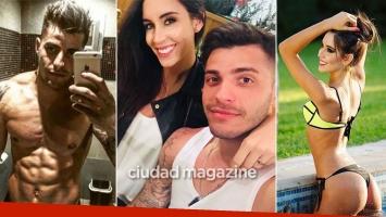 Lhoan, de novio con Florencia de Palo a un mes de separarse de Charlotte Caniggia. Foto: Instagram