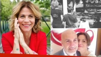 La felicidad de Marcela Morelo, en pleno proceso de adopción de 3 hermanos: En unos días empezamos el juicio de...