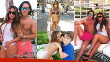 Las vacaciones de Marcela Tauro en Punta Cana (Fotos: revista Paparazzi)