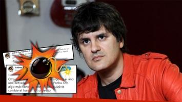El tremendo y desubicado tweet de Andrés Ciro Martínez a una furiosa fan que lo increpó por la reprogramación de un...