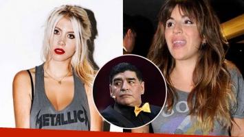 Wanda Nara recomendó un antidoping para Maradona y Gianinna le salió fuerte al cruce: ¡Recuerdo tu pasado y me...