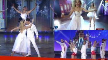 Fede Bal y Laurita Fernández reformularon su homenaje a Disney a ShowMatch