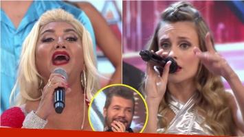 Gladys La Bomba Tucumana y Melina Lezcano se enfrentaron en un duelo de canto en ShowMatch